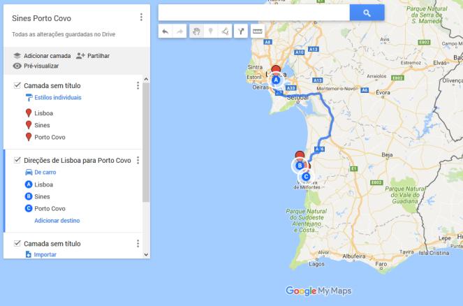 A Weekend In Sines Porto Covo Portugal A Pulgarita - Portugal map sines